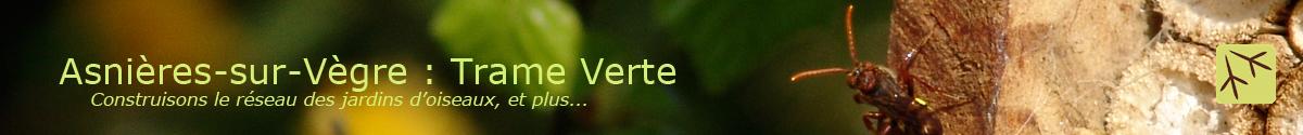 Asnières-sur-Vègre: Trame Verte
